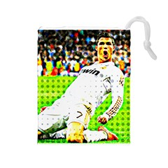 Cristiano Ronaldo  Drawstring Pouch (Large)