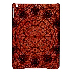 Grunge Style Geometric Mandala Apple iPad Air Hardshell Case