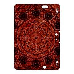Grunge Style Geometric Mandala Kindle Fire Hdx 8 9  Hardshell Case
