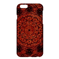 Grunge Style Geometric Mandala Apple iPhone 6 Plus Hardshell Case