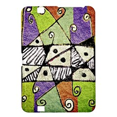 Multicolored Tribal Print Abstract Art Kindle Fire HD 8.9  Hardshell Case