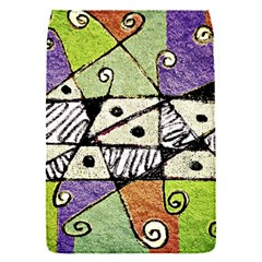 Multicolored Tribal Print Abstract Art Removable Flap Cover (small)