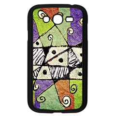 Multicolored Tribal Print Abstract Art Samsung Galaxy Grand Duos I9082 Case (black)