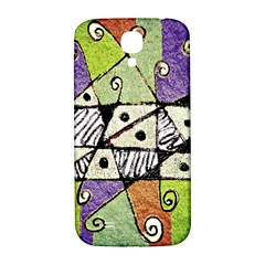 Multicolored Tribal Print Abstract Art Samsung Galaxy S4 I9500/i9505  Hardshell Back Case