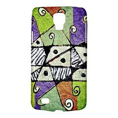 Multicolored Tribal Print Abstract Art Samsung Galaxy S4 Active (i9295) Hardshell Case