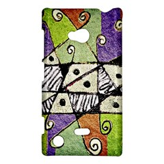 Multicolored Tribal Print Abstract Art Nokia Lumia 720 Hardshell Case