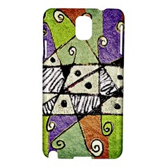 Multicolored Tribal Print Abstract Art Samsung Galaxy Note 3 N9005 Hardshell Case