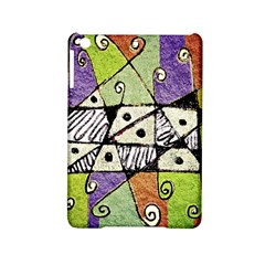 Multicolored Tribal Print Abstract Art Apple Ipad Mini 2 Hardshell Case