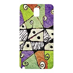Multicolored Tribal Print Abstract Art Samsung Galaxy Note 3 N9005 Hardshell Back Case