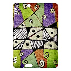 Multicolored Tribal Print Abstract Art Kindle Fire HDX Hardshell Case