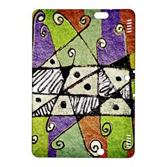 Multicolored Tribal Print Abstract Art Kindle Fire HDX 8.9  Hardshell Case