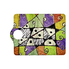 Multicolored Tribal Print Abstract Art Kindle Fire Hd (2013) Flip 360 Case