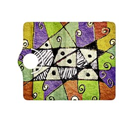 Multicolored Tribal Print Abstract Art Kindle Fire Hdx 8 9  Flip 360 Case