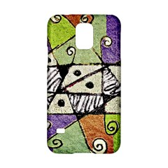 Multicolored Tribal Print Abstract Art Samsung Galaxy S5 Hardshell Case