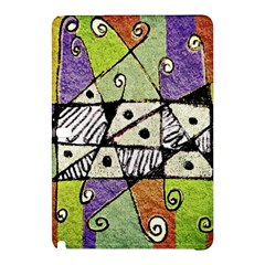 Multicolored Tribal Print Abstract Art Samsung Galaxy Tab Pro 12.2 Hardshell Case