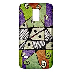 Multicolored Tribal Print Abstract Art Samsung Galaxy S5 Mini Hardshell Case