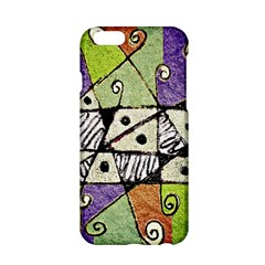 Multicolored Tribal Print Abstract Art Apple iPhone 6 Hardshell Case