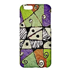 Multicolored Tribal Print Abstract Art Apple iPhone 6 Plus Hardshell Case