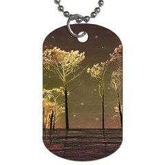 Fantasy Landscape Dog Tag (one Sided)