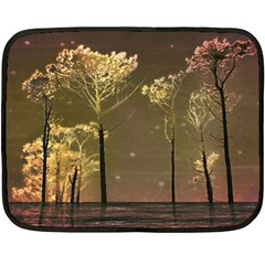 Fantasy Landscape Mini Fleece Blanket (two Sided)