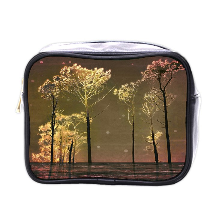 Fantasy Landscape Mini Travel Toiletry Bag (One Side)