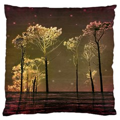 Fantasy Landscape Large Flano Cushion Case (Two Sides)