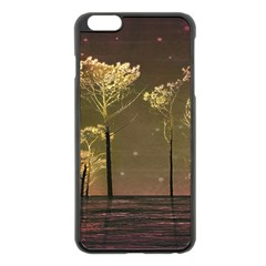 Fantasy Landscape Apple Iphone 6 Plus Black Enamel Case