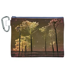 Fantasy Landscape Canvas Cosmetic Bag (XL)