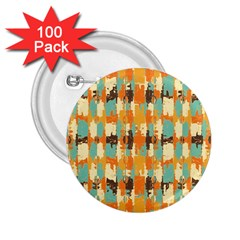 Shredded Abstract Background 2 25  Button (100 Pack)