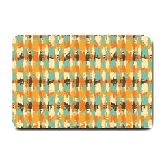 Shredded Abstract Background Small Doormat