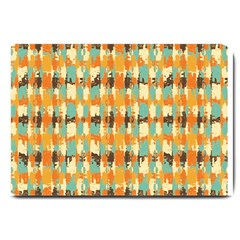 Shredded Abstract Background Large Doormat