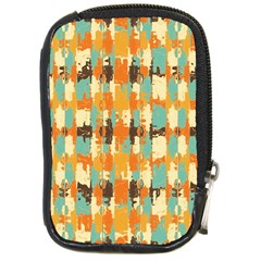 Shredded Abstract Background Compact Camera Leather Case