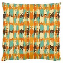 Shredded Abstract Background Large Cushion Case (two Sides)