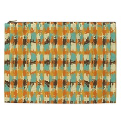 Shredded Abstract Background Cosmetic Bag (xxl)