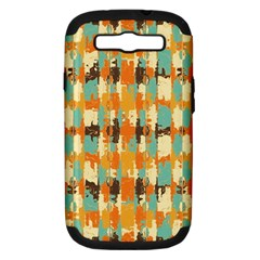 Shredded Abstract Background Samsung Galaxy S Iii Hardshell Case (pc+silicone)