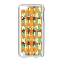 Shredded Abstract Background Apple Ipod Touch 5 Case (white)