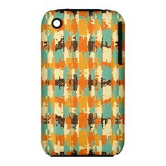 Shredded abstract background Apple iPhone 3G/3GS Hardshell Case (PC+Silicone)