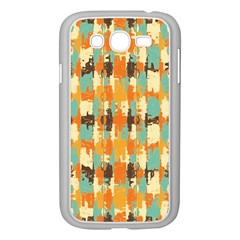 Shredded Abstract Background Samsung Galaxy Grand Duos I9082 Case (white)