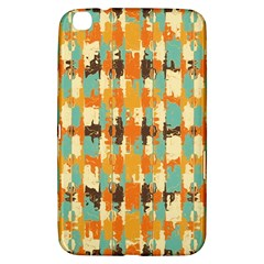 Shredded abstract background Samsung Galaxy Tab 3 (8 ) T3100 Hardshell Case