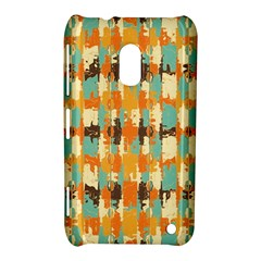 Shredded Abstract Background Nokia Lumia 620 Hardshell Case