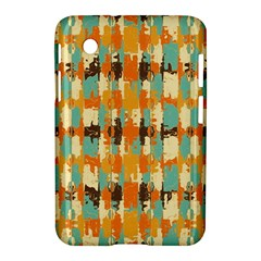 Shredded abstract background Samsung Galaxy Tab 2 (7 ) P3100 Hardshell Case