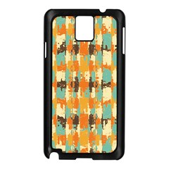 Shredded abstract background Samsung Galaxy Note 3 N9005 Case (Black)