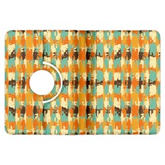 Shredded abstract background Kindle Fire HDX Flip 360 Case