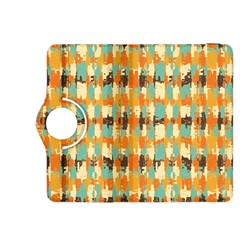 Shredded abstract background Kindle Fire HDX 8.9  Flip 360 Case