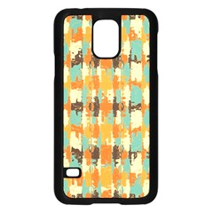 Shredded abstract background Samsung Galaxy S5 Case (Black)