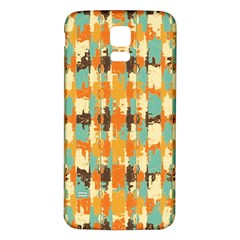 Shredded abstract background Samsung Galaxy S5 Back Case (White)