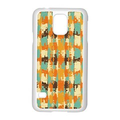 Shredded abstract background Samsung Galaxy S5 Case (White)