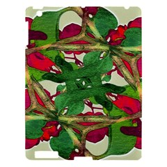Floral Print Colorful Pattern Apple Ipad 3/4 Hardshell Case
