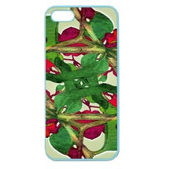 Floral Print Colorful Pattern Apple Seamless Iphone 5 Case (color)