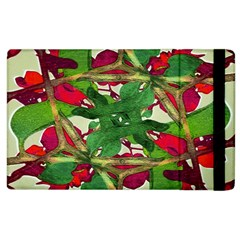 Floral Print Colorful Pattern Apple Ipad 3/4 Flip Case